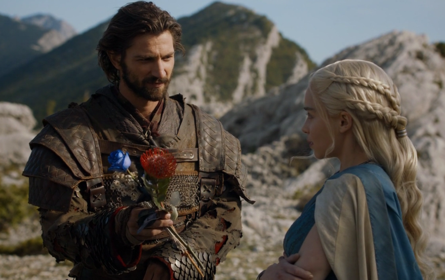 beards from game of thrones - Daario Naharis